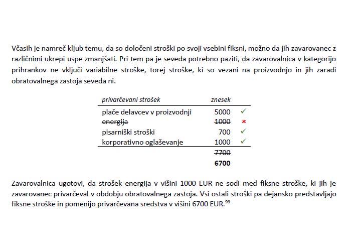 Poglavje 4 - Primer 2 (Faza 5: Izračunavanje prihrankov)